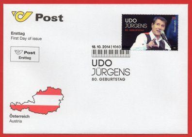 2014-austria-Udo-fdc-1