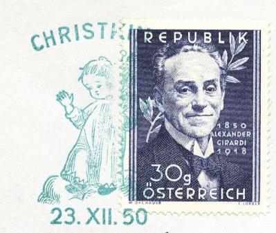 Xmas-1950-austria-Sst-23-XII-50