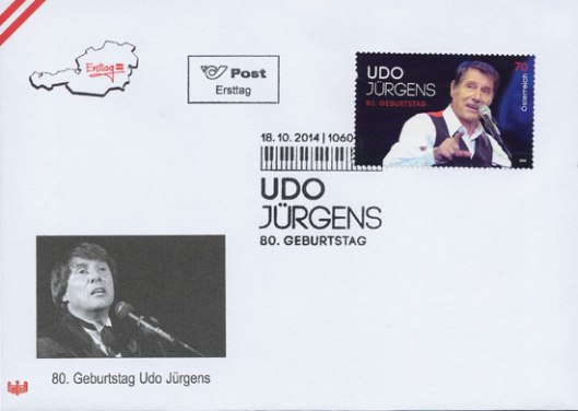 2014-austria-Udo-fdc-2
