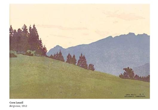 Lauzil-Cora-1912-Bergwiese-holz-kat1