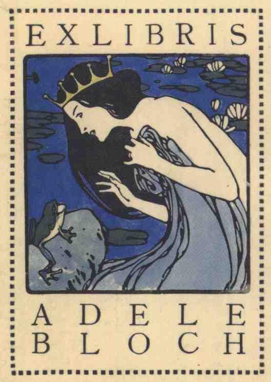 exlibris-KoloMoser-AdeleBloch-um1905-1b
